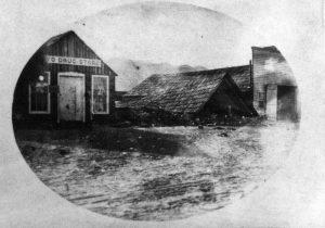Danni terremotoLone Pine 1872