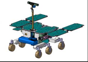 Il Modulo Rover predisposto per l'esplorazione della superficie di Marte