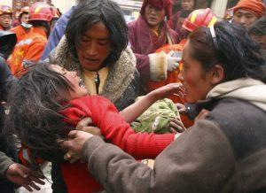 terremoto Qinghai, Cina, 2010
