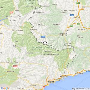 Terremoti Cuneo