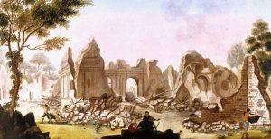 Terremoto, rovine 1783