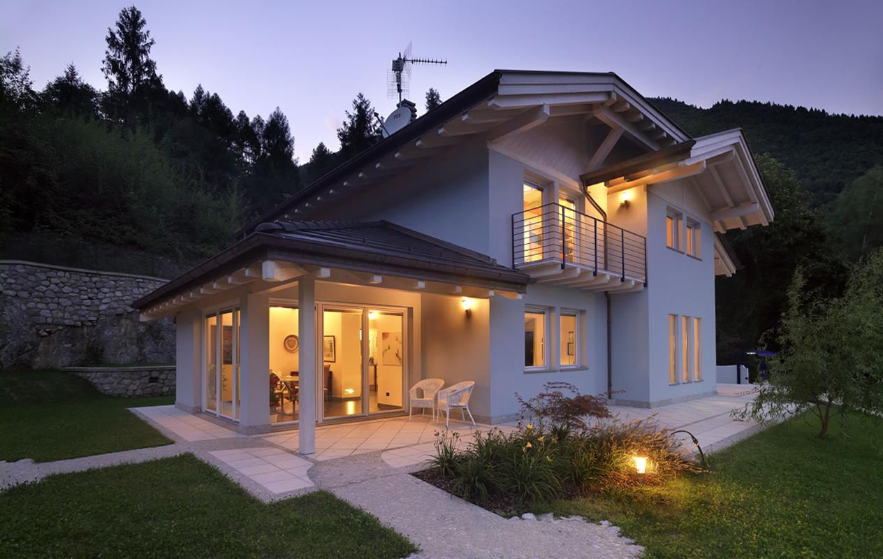 L 39 edilizia ecologica piace sempre di pi boom di case in for Immagini case moderne