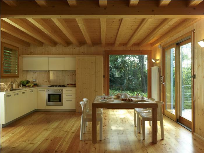 Case In Legno Interni : Ledilizia ecologica piace sempre di più: boom di case in legno