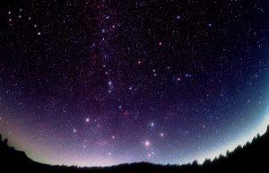 cielo stellato buio asiago notte buia