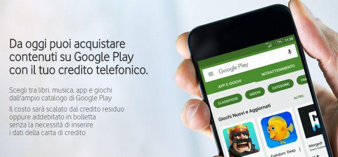 vodafone google play