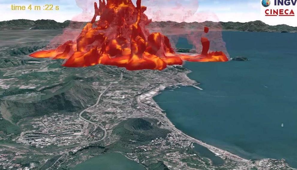 """Campi Flegrei, ricostruita l'anatomia dell'ultima eruzione verificatasi nel 1538: """"ecco perchè è il vulcano più pericoloso del mondo"""""""