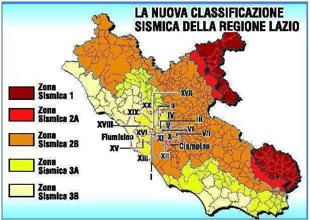 Il terremoto di oggi a roma e il rischio sismico nella for Rischio sismico in italia