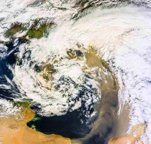 tempesta di Sabbia 23 marzo 2016
