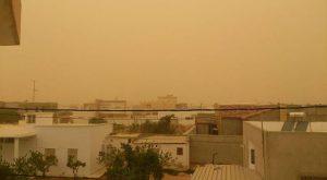 tempesta di sabbia ciclone Gaby a Sfax (4)