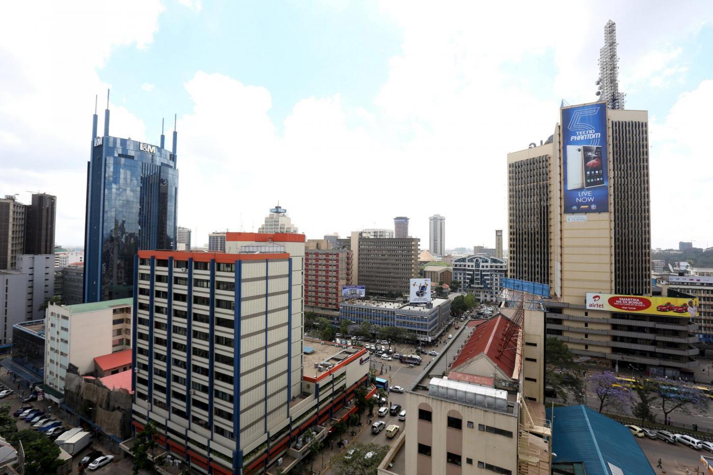 Kenya 10 morti nel crollo dell 39 edificio di 6 piani a for Piani di costruzione dell edificio