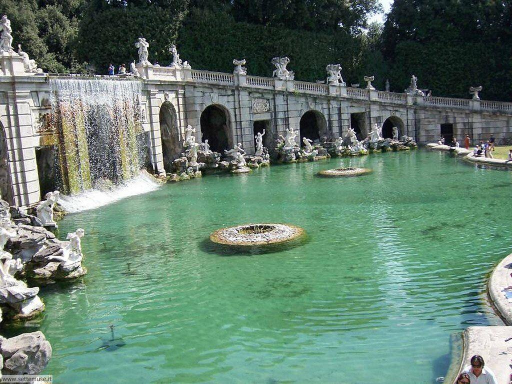 La reggia di caserta e il suo parco due gioielli di ineguagliabile splendore meteo web - Giardini reggia di caserta ...