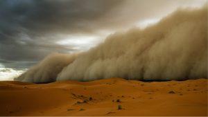 Sahara haboob 2008