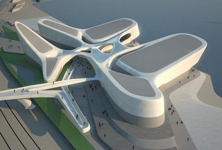 L 39 impronta di zaha hadid in italia non solo roma e milano ecco il progetto fantastico per - Hadid architetto ...