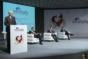 Verona, Il Presidente della Repubblica Sergio Mattarella a Vinitaly