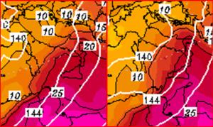Le temperature previste per mercoledì 11 maggio in Italia: super caldo al Sud con picchi di +35°C in Sicilia