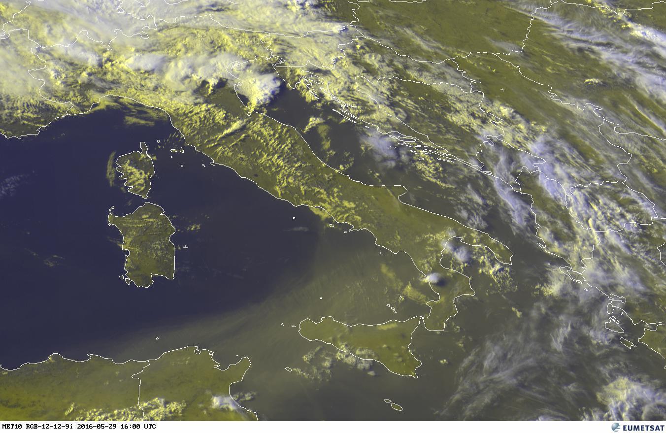 Fiume di sabbia dal sahara al sud italia violenti for Sabbia di fiume