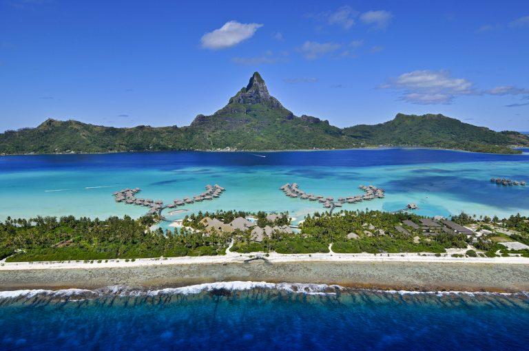 Splendida veduta di Bora Bora