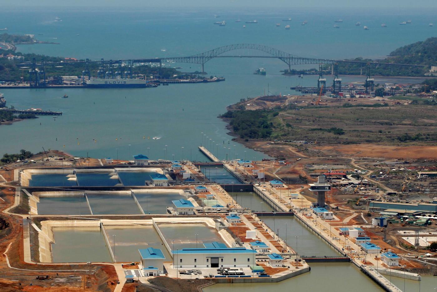 Il progetto di espansione del Canale di Panama  Atlantico e Pacifico ... 5f6a6db9c837
