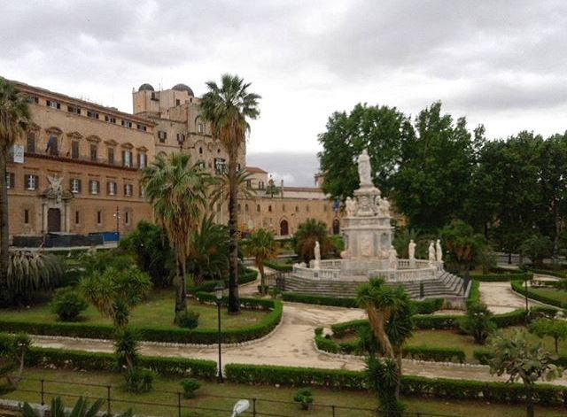 Il maltempo di oggi a Palermo