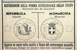 referendum monarchia repubblica 1946