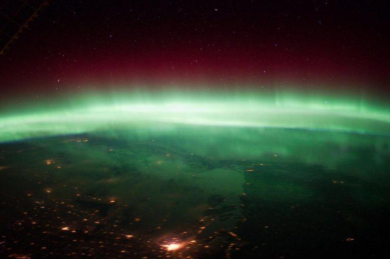 Aurora sul Canada (LaPresse/Sipa USA)