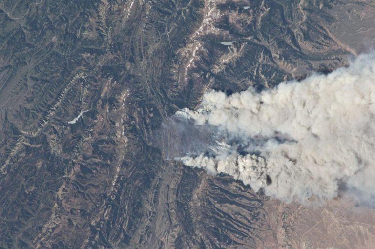Incendio in Wyoming (LaPresse/Sipa USA)
