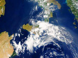 I temporali del primo pomeriggio di oggi all'estremo Sud