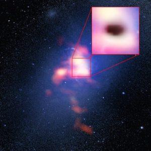 Credit: B. Saxton (NRAO/AUI/NSF)/G. Tremblay et al./NASA/ESA Hubble/ALMA (ESO/NAOJ/NRAO)
