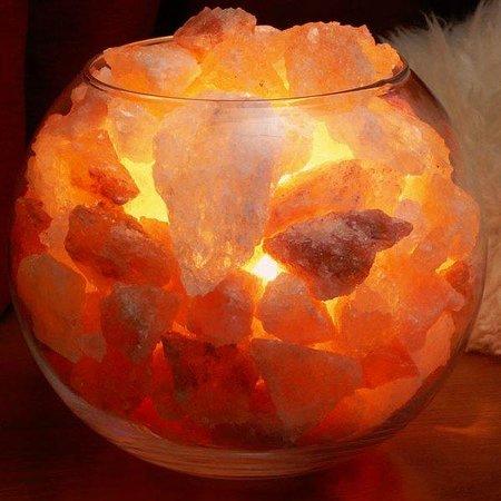 per utilizzarla posiziona le lampade di sale nei punti strategici di ...