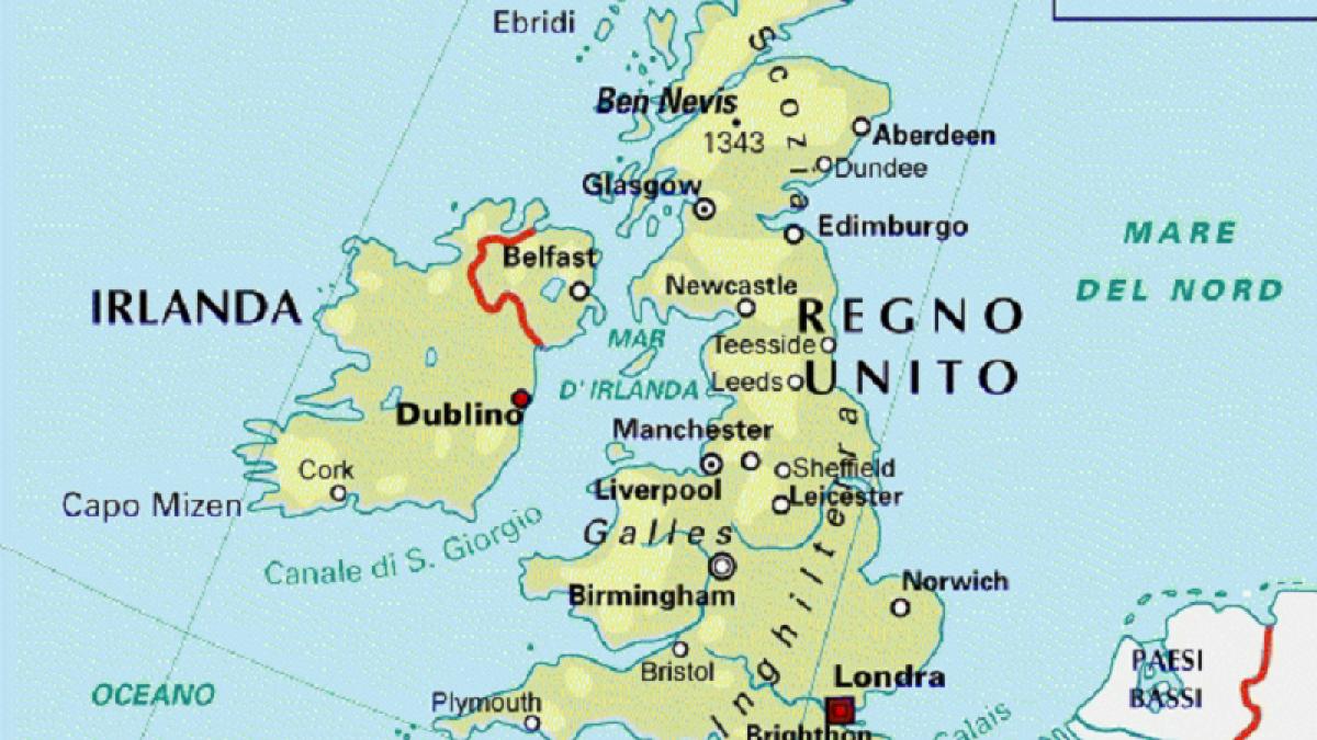 Cartina Geografica Fisica Della Gran Bretagna.Ma Il Galles Dov E Un Po Di Geografia Per Chiarire Le Idee Meteoweb