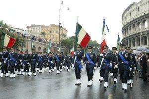 roma pioggia parata 2 giugno