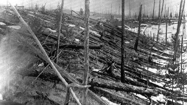 Risultati immagini per Evento di Tunguska