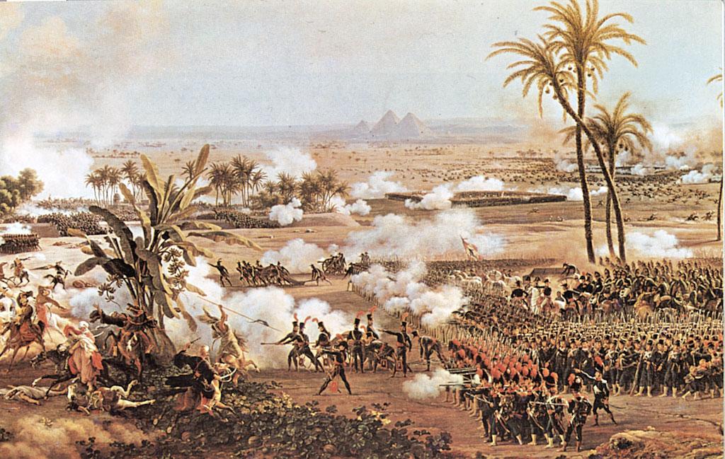 Accadde oggi nel 1798 la battaglia della piramidi for Cortile della campagna francese