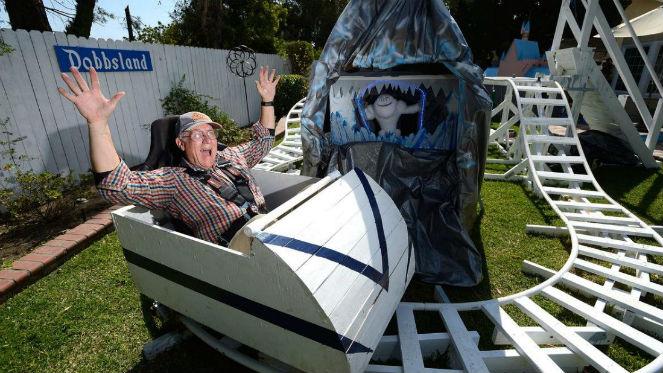 """Popolare Dobbsland, il parco giochi """"fai da te"""" che fa felici i piccoli  UT25"""