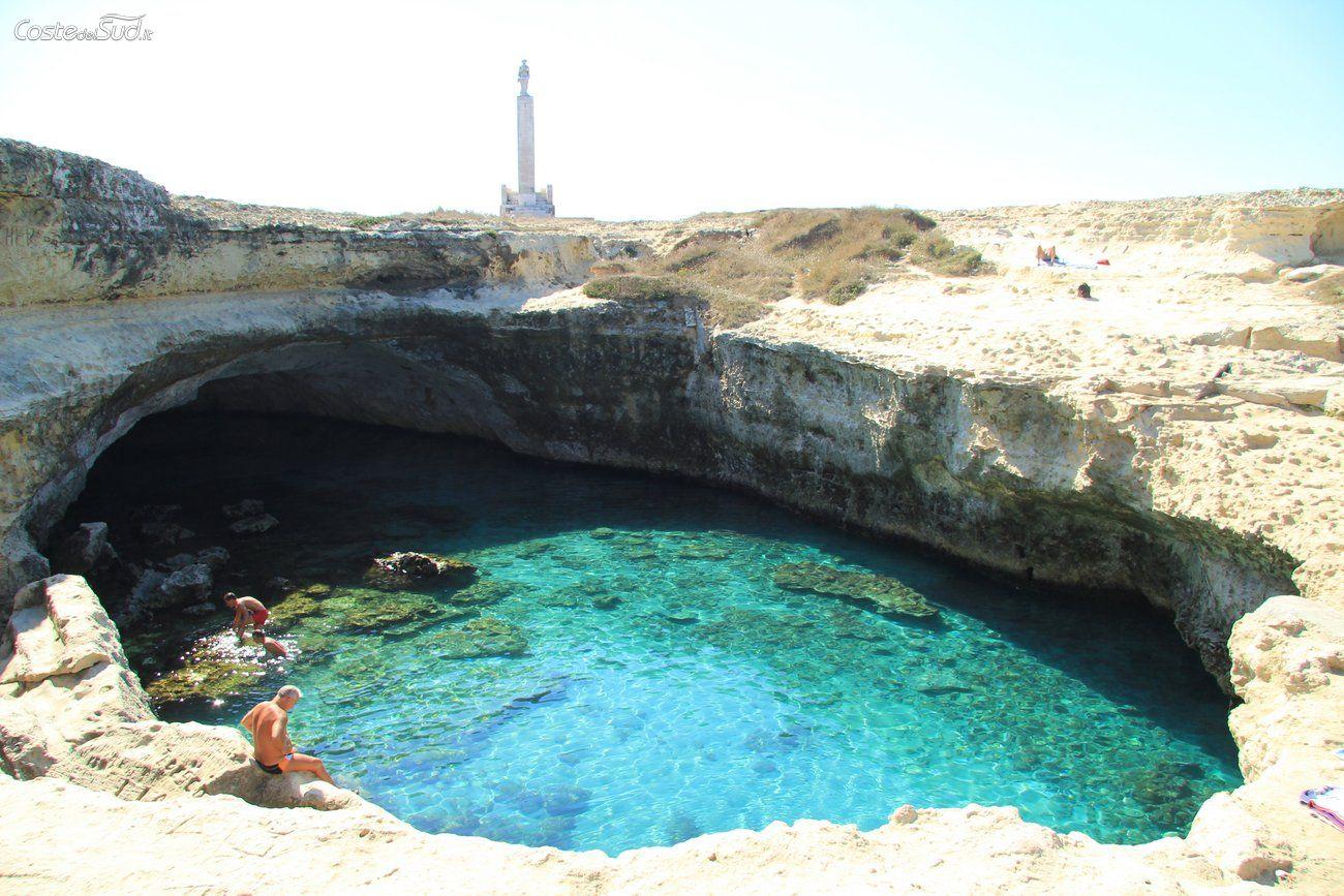 Grotta della poesia l incantevole piscina naturale nel - Piscina naturale puglia ...