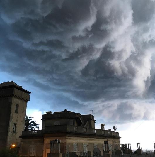 Genova Temporale Maltempo Allerta Meteo