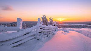 6796901-gorgeous-snow-fence-wallpaper