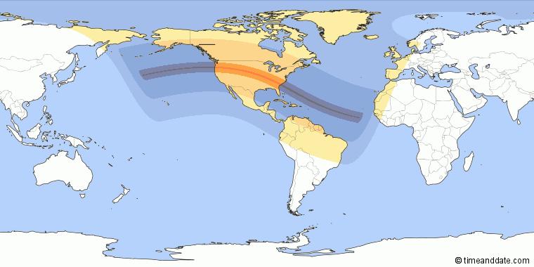 Eclissi Solare Totale 21 agosto 2017 (1)