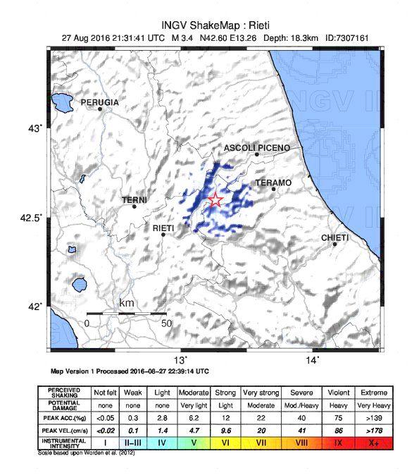 Terremoto, l'Appennino continua a tremare: nuove scosse, la più forte in serata