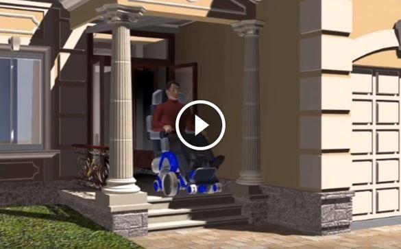 Ecco la sedia a rotelle del futuro e le sue funzionalit for Sedia a rotelle