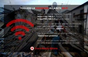 terremoto wifi
