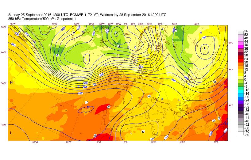 Previsioni Meteo: ancora temporali all'estremo Sud nell'ultima settimana di settembre, nuova perturbazione Africana nel weekend