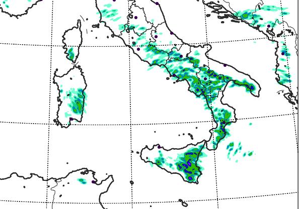 Allerta Meteo, ancora forti temporali al Sud: attenzione alle prossime 24-36 ore, ecco le zone più colpite [MAPPE]
