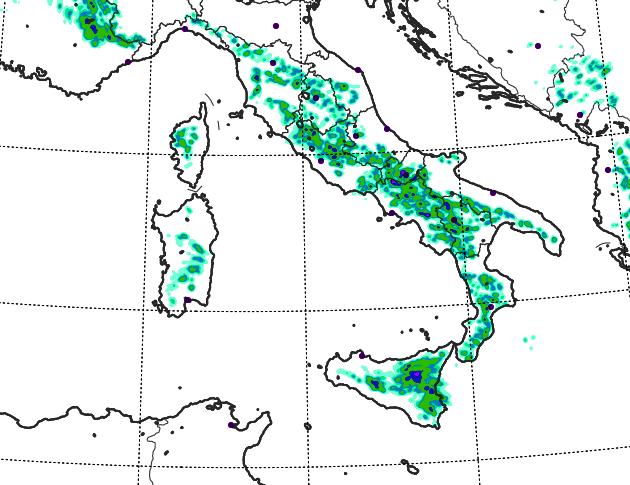 Allerta Meteo, oggi 9° giorno consecutivo di piogge e temporali al Sud: altri fenomeni estremi nel pomeriggio, ecco le zone più colpite