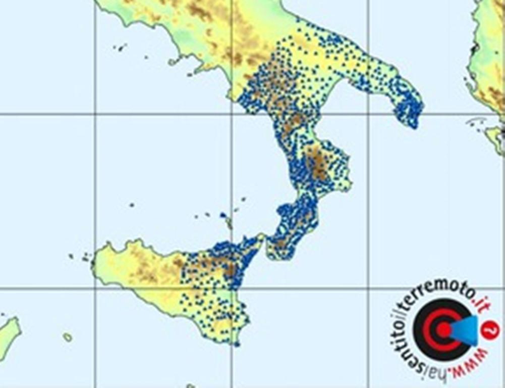 Il terremoto 5.0 di stamattina in Grecia: avvertito a Messina, Reggio Calabria, Cosenza, Bari, Catania, Catanzaro, Taranto, Siracusa, Potenza… [MAPPE]