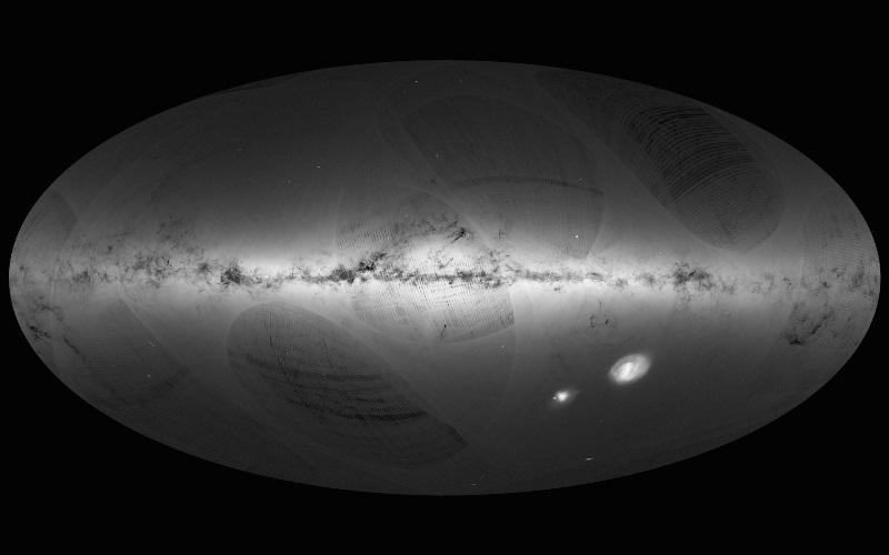 Astronomia, la rivoluzione di Gaia: release dei dati, prime conferme sull'inclinazione del piano della nostra galassia [GALLERY]