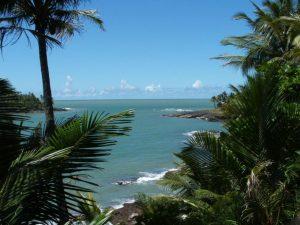 Uno scorcio della fascia costiera della Guyana Francese