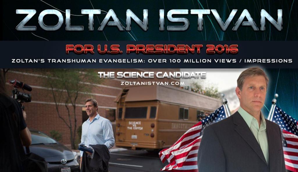 Scienza e Elezioni Usa 2016: intervista al futurista americano Zoltan Istvan su Donald Trump