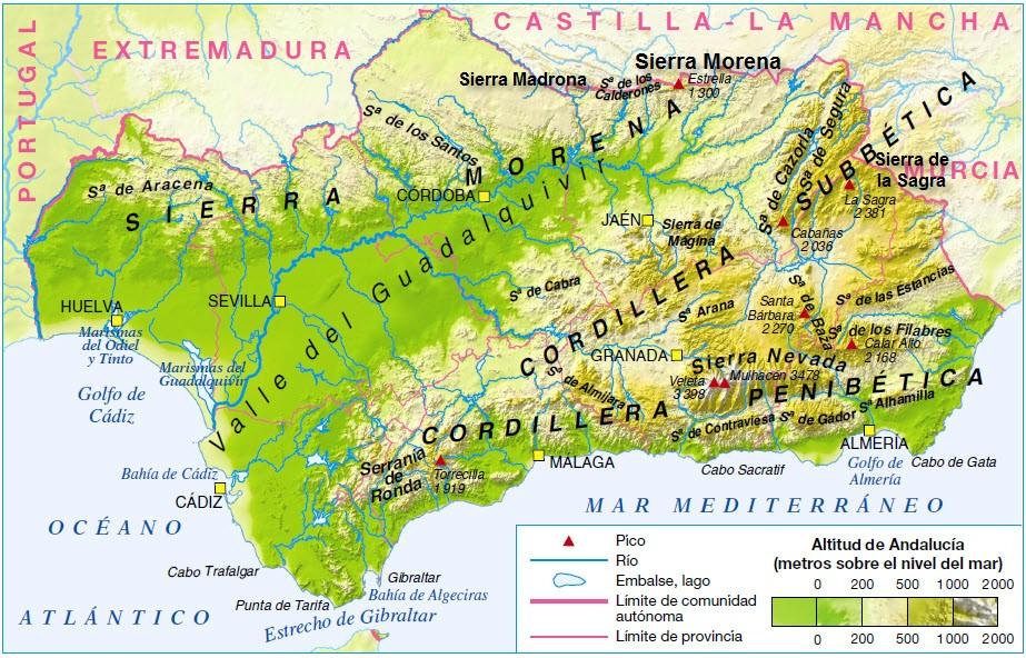 Cartina Sud Della Spagna.Meteo Allerta Meteo In Andalusia Per Forti Temporali Pericolo Riadas Nel Sud Della Spagna Meteoweb