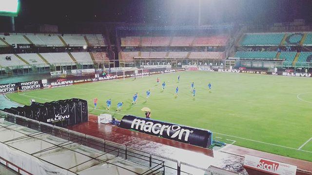 Maltempo Sicilia, diluvio a Catania: a rischio il derby Catania-Akragas di Lega Pro [FOTO LIVE]